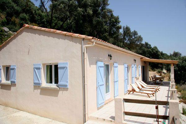 Vista esterna della casa vacanze Affitto Villa  87574 Propriano