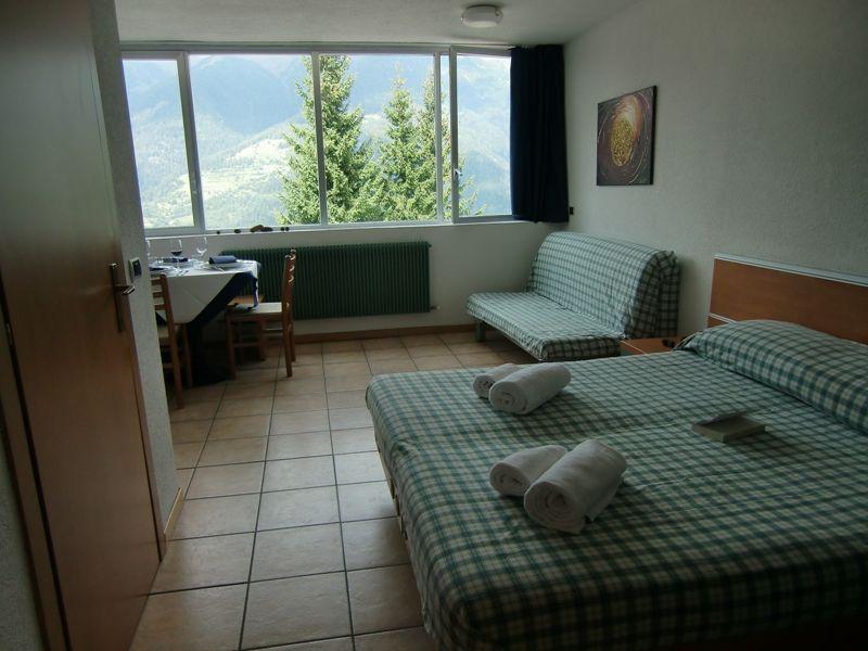 Vista dalla casa vacanze Affitto Monolocale 64404 Marilleva