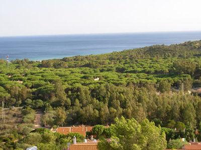 Vista dal terrazzo Affitto Appartamento 75425 Chia