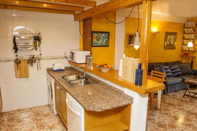 Cucina all'americana Affitto Appartamento 76203 Dénia