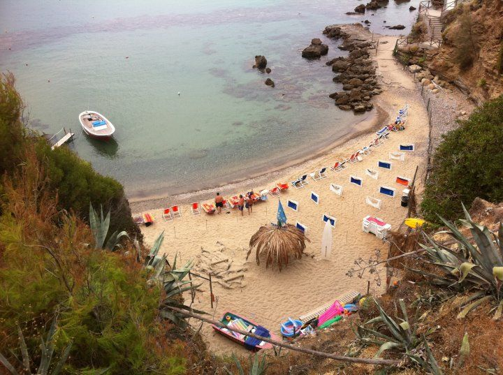 Spiaggia Affitto Appartamento 96680 Palinuro