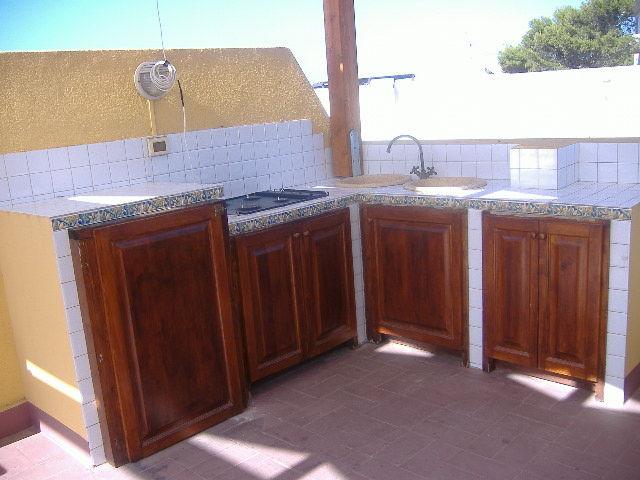 Cucina separata Affitto Appartamento 68233 Favignana