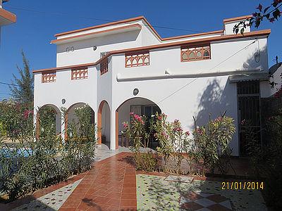 Vista esterna della casa vacanze Affitto Villa  79199 Saly