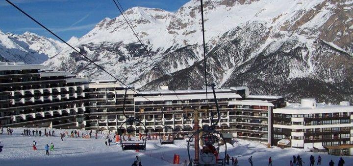 Vista esterna della casa vacanze Affitto Monolocale 79720 Puy Saint Vincent