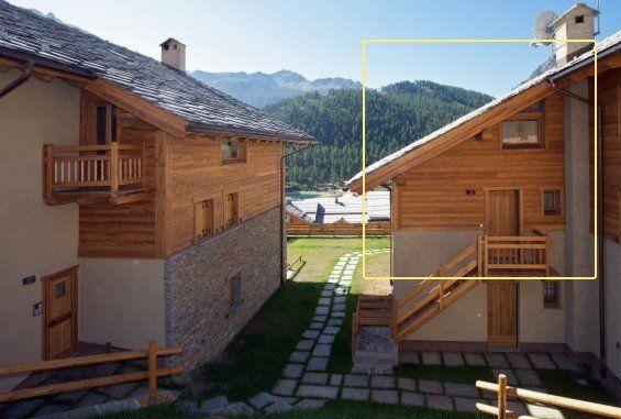 Vista esterna della casa vacanze Affitto Appartamento 82860 Monginevro
