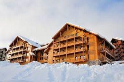Vista esterna della casa vacanze Affitto Appartamento 101374 Risoul 1850