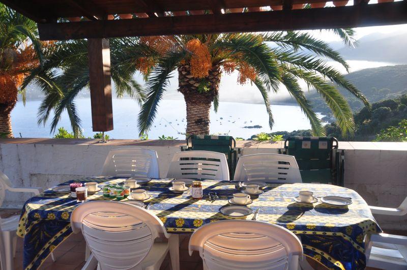 Vista dal terrazzo Affitto Villa  105031 Ajaccio