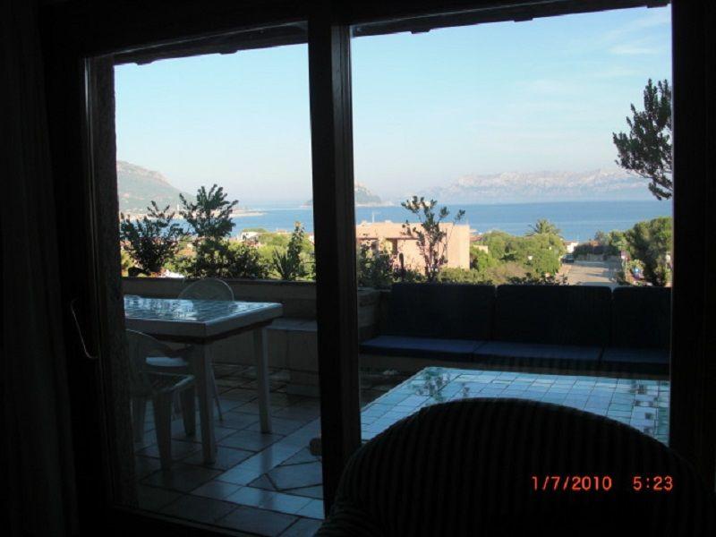 Vista dalla casa vacanze Affitto Appartamento 108847 Golfo Aranci
