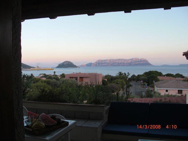 Vista dal balcone Affitto Appartamento 108847 Golfo Aranci
