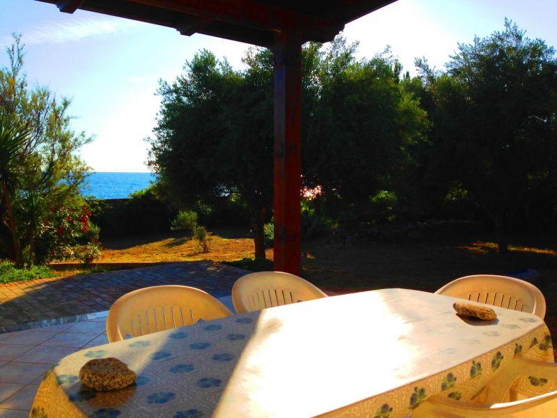 Veranda Affitto Villa  113969 Joppolo