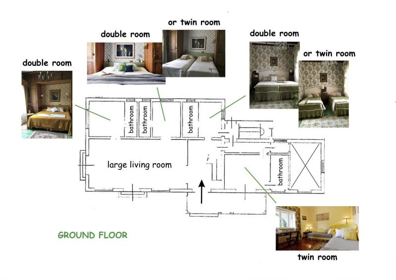 Pianta casa vacanze Affitto Villa  118456 Castelveccana