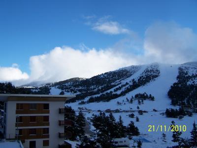 Vista dal terrazzo Affitto Appartamento 66936 Gr�oli�res Les Neiges
