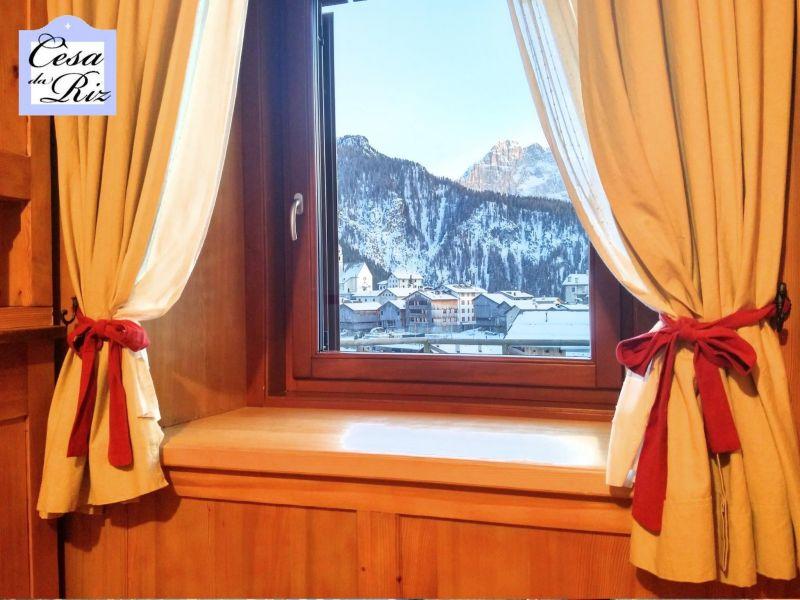 Vista dalla casa vacanze Affitto Appartamento 69277 Civetta