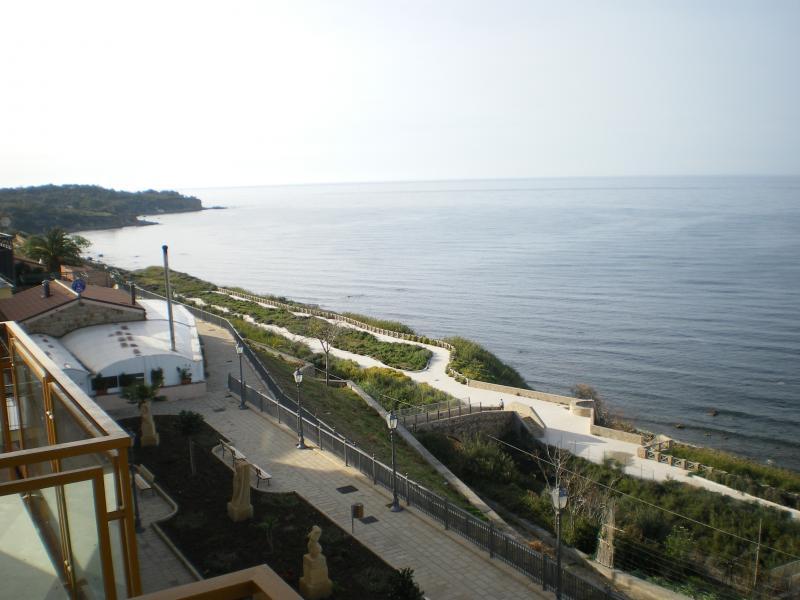 Vista dal balcone Affitto Appartamento 72732 Finale di Pollina