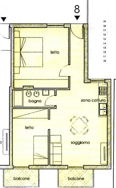 Mappa Affitto Appartamento 72732 Finale di Pollina
