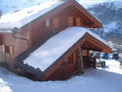 Vista esterna della casa vacanze Affitto Chalet 73309 Les Menuires