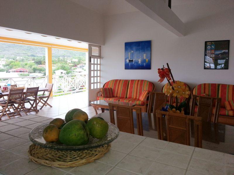 Vista dalla casa vacanze Affitto Appartamento 84275 Le Diamant