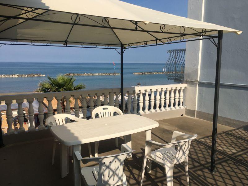 Vista dal terrazzo Affitto Appartamento 89360 Cupra Marittima