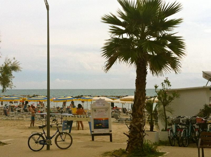 Vista dalla casa vacanze Affitto Appartamento 89360 Cupra Marittima