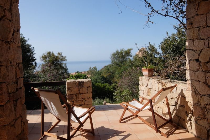 Vista dal terrazzo Affitto Villa  109654 Trinità d'Agultu e Vignola