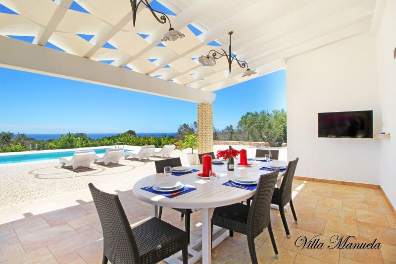 Vista dal balcone Affitto Villa  109764 Santa Maria di Leuca
