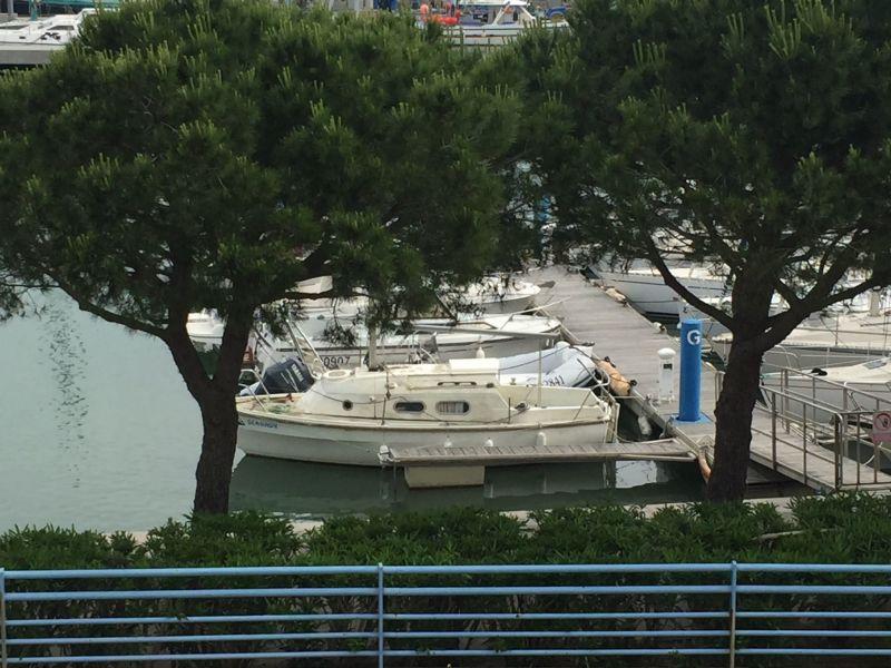 Vista dalla casa vacanze Affitto Appartamento 115682 Port La Nouvelle