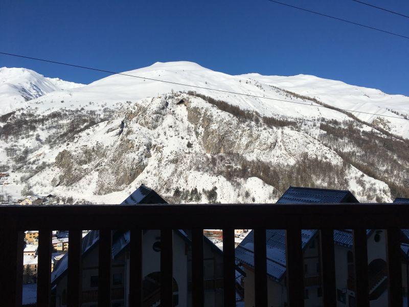 Vista dalla casa vacanze Affitto Appartamento 117722 Valloire