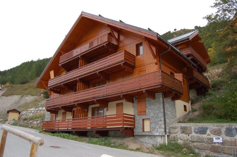 Vista esterna della casa vacanze Affitto Appartamento 117722 Valloire