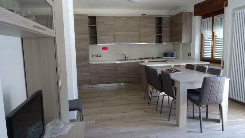 Cucina all'americana Affitto Appartamento 118226 Falcade