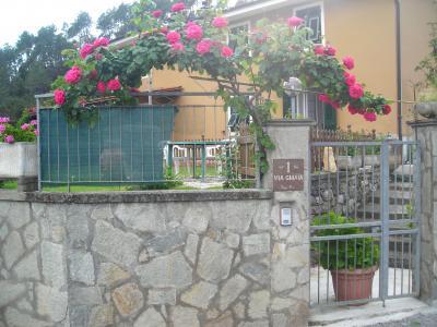 Vista esterna della casa vacanze Affitto Appartamento 67032 Deiva Marina