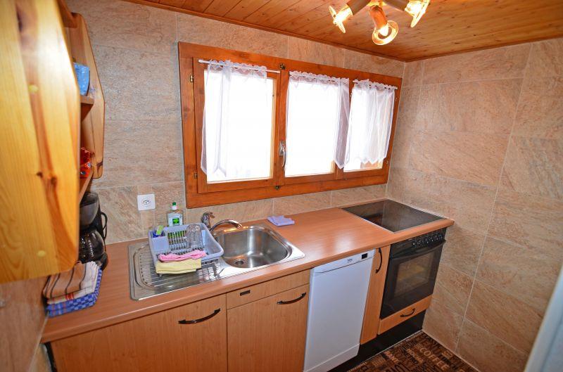 Cucina separata Affitto Appartamento 67594 Nendaz