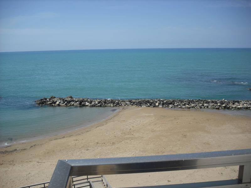 Vista dal balcone Affitto Appartamento 71287 Scoglitti