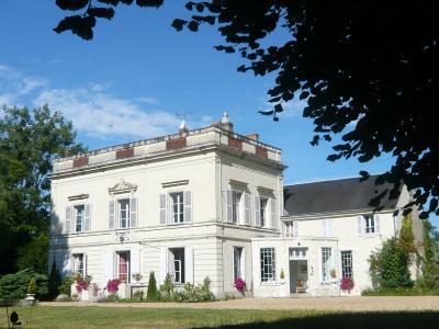 Vista esterna della casa vacanze Affitto Agriturismo 81923 Saumur