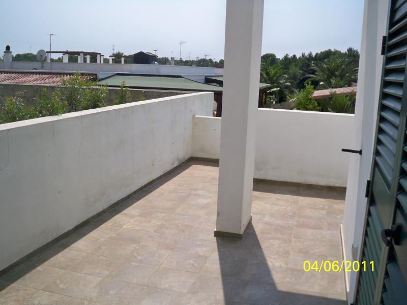 Vista dal terrazzo Affitto Appartamento 84360 Gallipoli