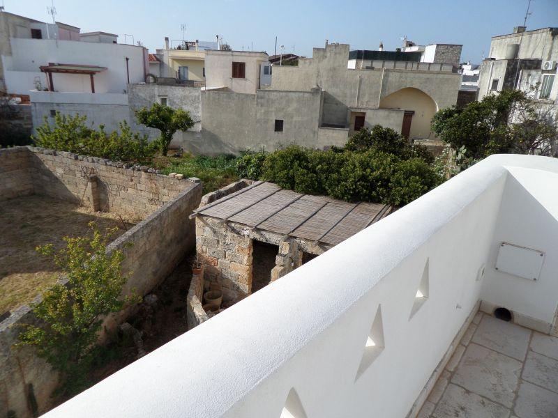 Vista dal terrazzo Affitto Appartamento 88520 Santa Maria di Leuca