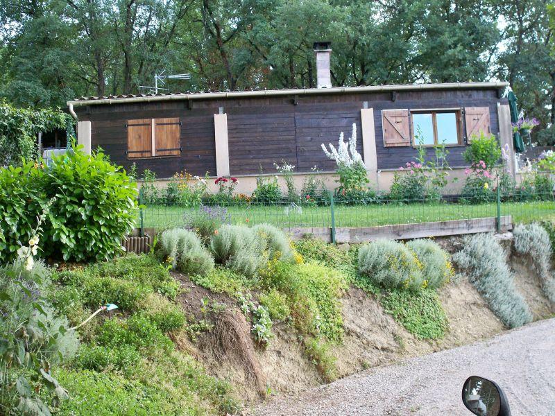 Vista esterna della casa vacanze Affitto Casa 90128 Forcalquier