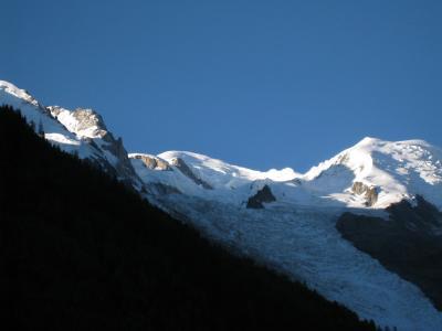 Vista dalla casa vacanze Affitto Appartamento 92446 Chamonix Mont-Blanc (Monte Bianco)