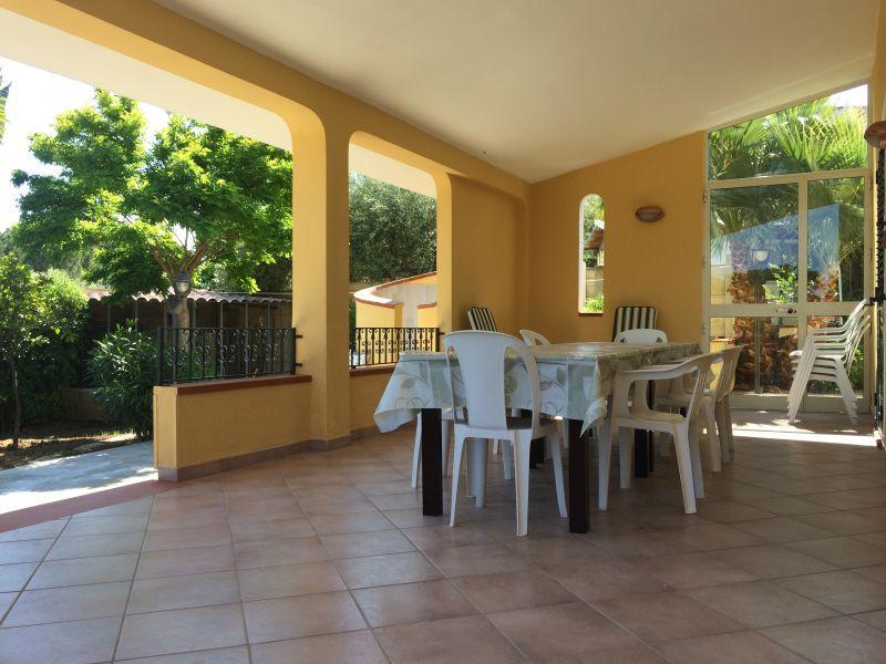 Vista esterna della casa vacanze Affitto Villa  93429 Avola