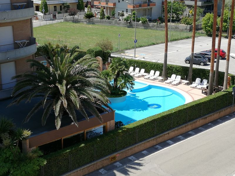 Vista dal balcone Affitto Appartamento 93590 Alba Adriatica