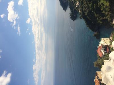 Vista dal balcone Affitto Appartamento 99256 Amalfi