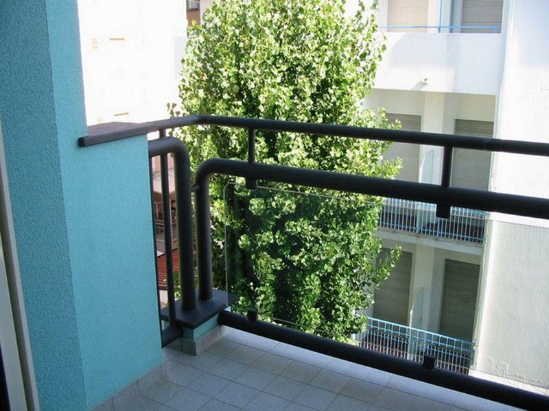 Vista dal balcone Affitto Appartamento 107913 Rimini
