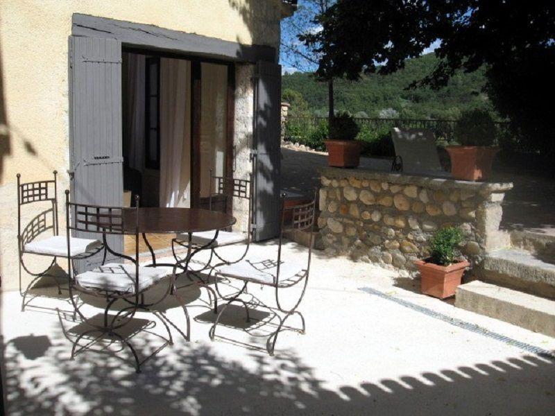 Vista dal terrazzo Affitto Agriturismo 111014 Gréoux Les Bains