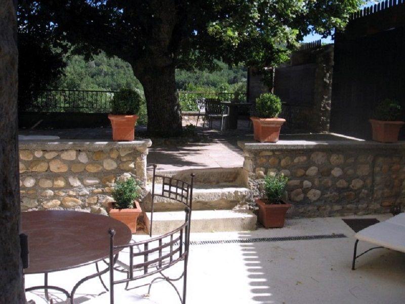 Vista dalla casa vacanze Affitto Agriturismo 111014 Gréoux Les Bains