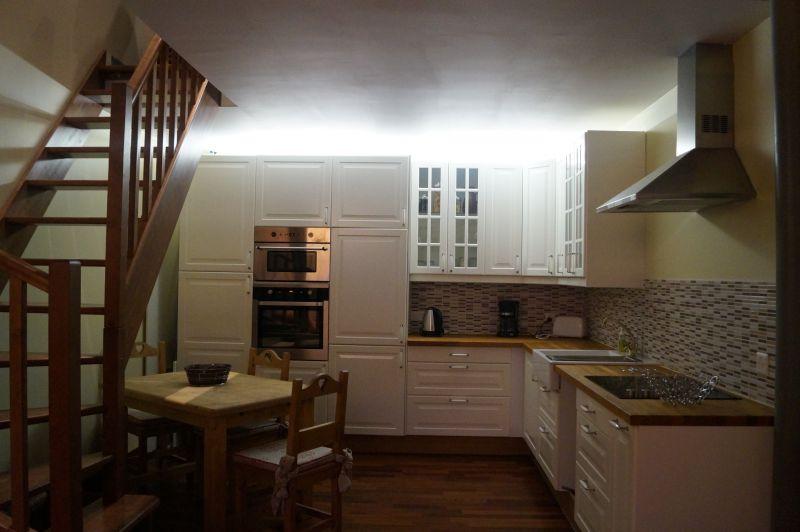 Cucina all'americana Affitto Appartamento 111916 Megève