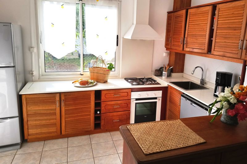 Cucina all'americana Affitto Villa  112242 Flic-en-Flac