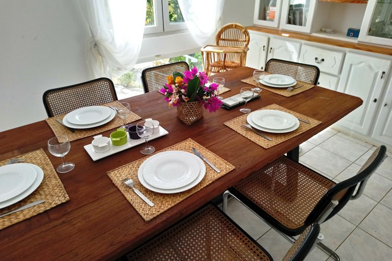 Sala da pranzo Affitto Villa  112242 Flic-en-Flac