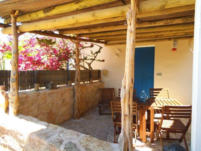 Vista dal terrazzo Affitto Appartamento 114681 Formentera