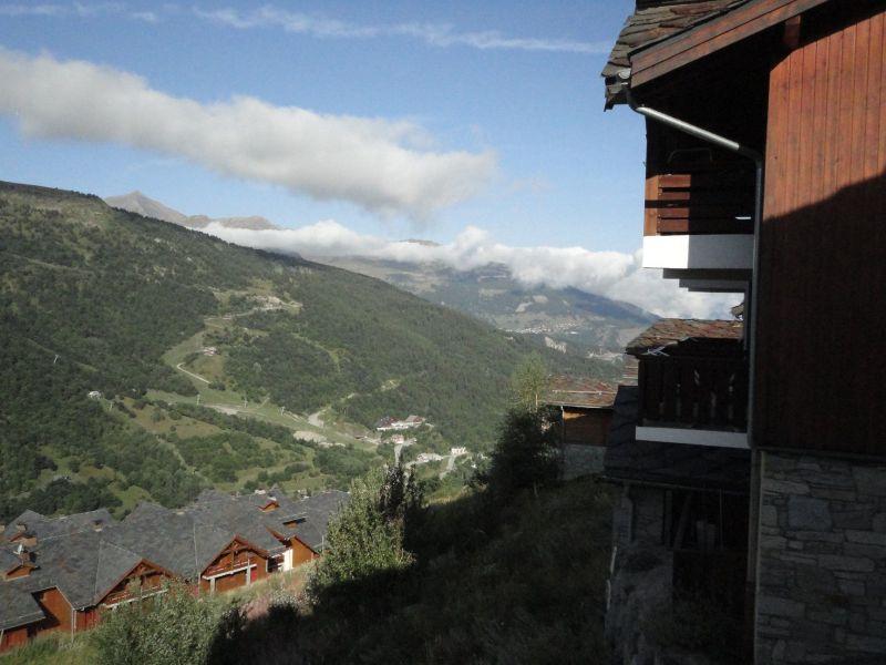 Vista dal balcone Affitto Appartamento 118538 Valmeinier