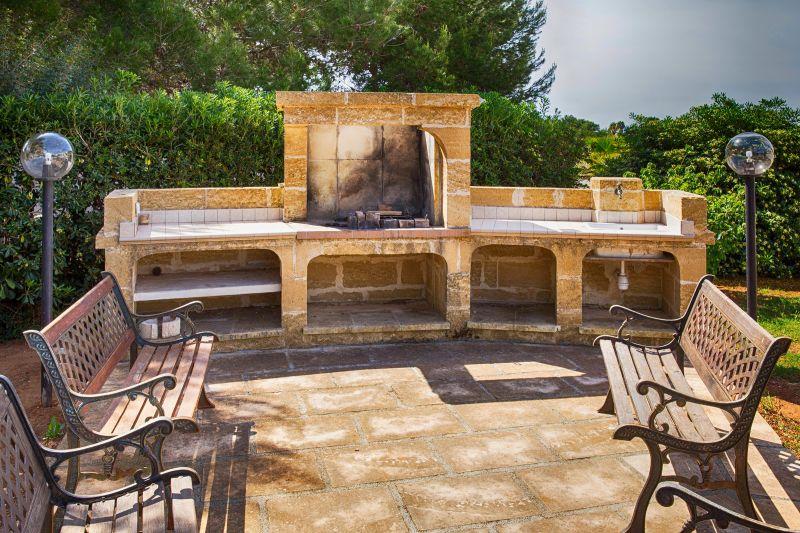 Barbecue Affitto Villa  71459 Gallipoli