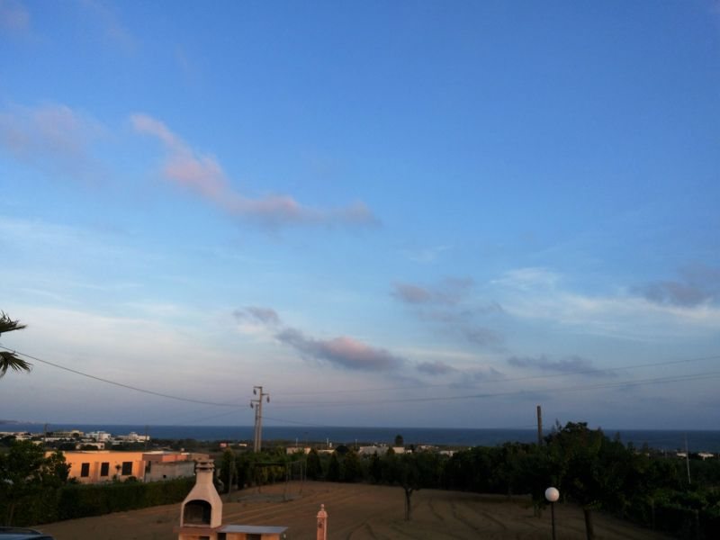 Vista dal terrazzo Affitto Villa  71621 Pescoluse